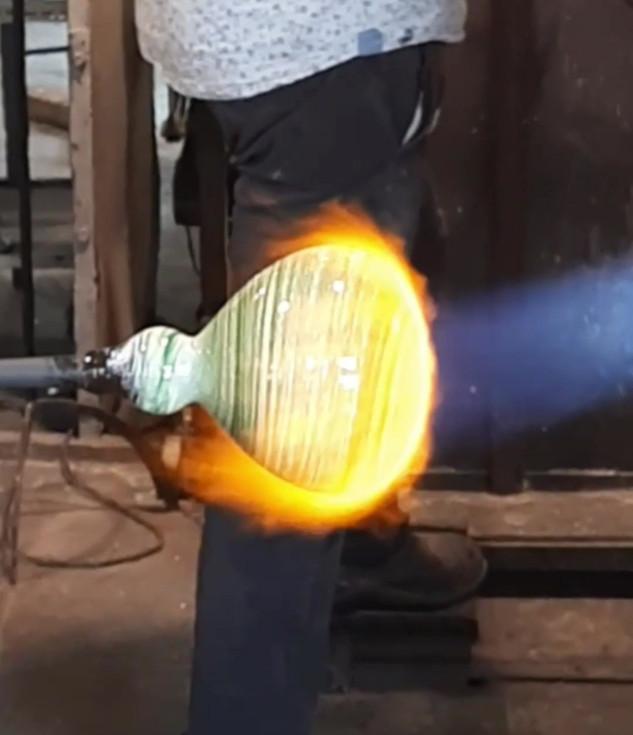 L'art du feu...