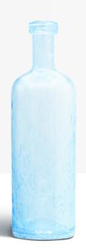 Grande bouteille bleu clair