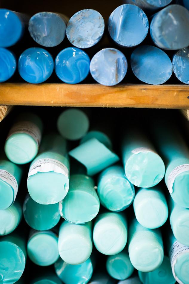 Balottes de couleur