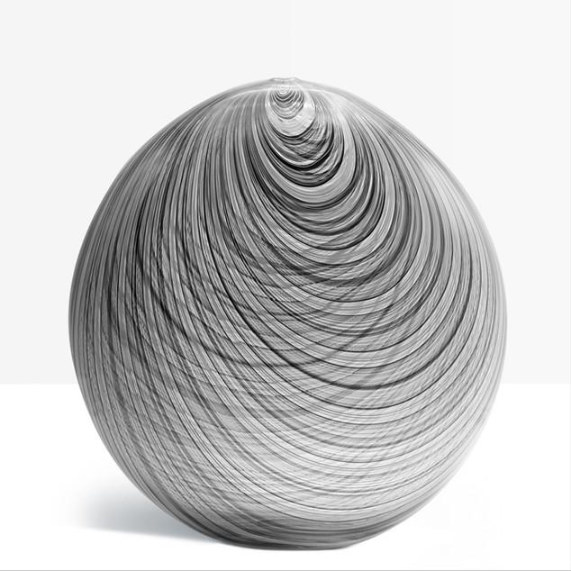 Vase filigrane, création Frédéric Alary