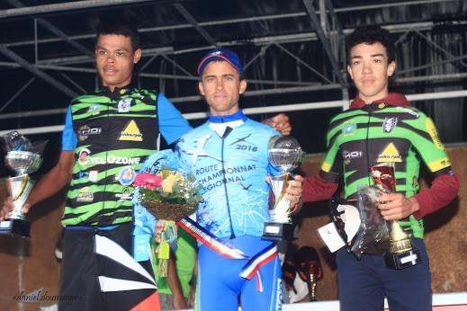 Championnat régional route : Julien Chane 2 scratch 1er espoir, Doriand Percrule 3 scratch 2è espoir, Bravo les jeunes et Merci aux anciens !