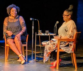 Tayari Jones and Lisa Gray May 2.jpg