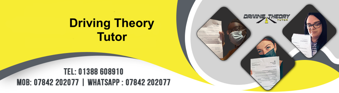 driving theory tutor website banner upda