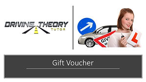 Driving Theory Test Tutor Gift Voucher 2