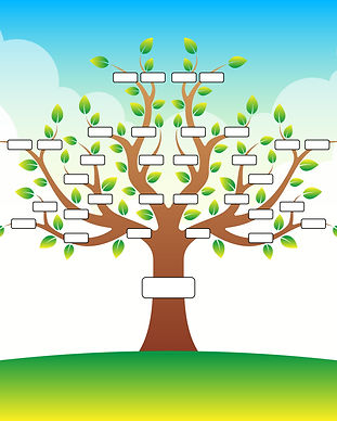 family-tree-template-with-place-for-text