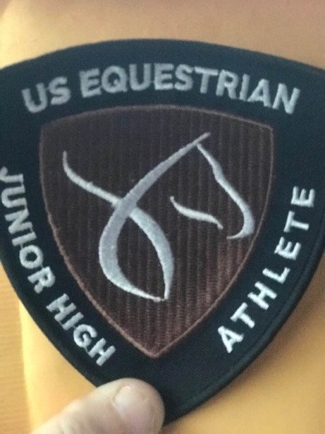 USEF Junior athlete lettering program