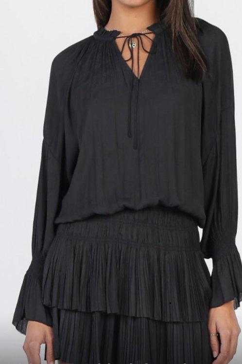 Black Neck Tie Dress