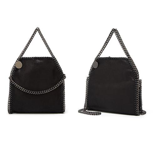Large Black Chain Bag