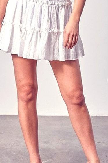 Ruffled Flirty Skirt