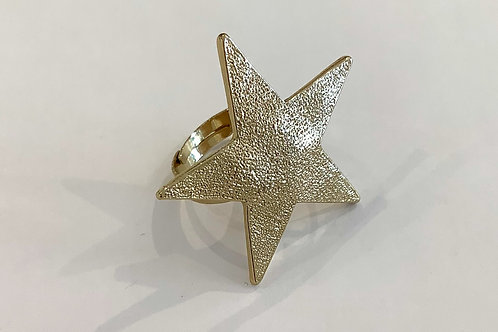 Shining Star Gold Ring