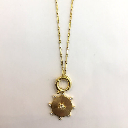 Come Sail Away Gold Necklace
