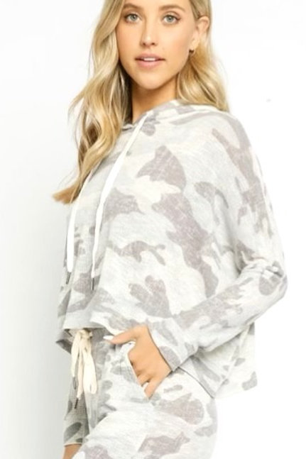 Comfy in Camo Lounge Set