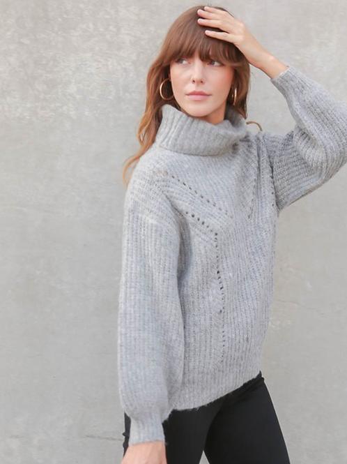 Grey Design Sweater