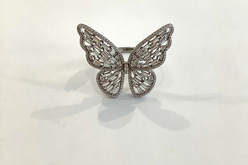 Beautiful Butterfly Ring (Silver)