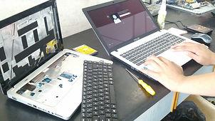 Atual Informática - Serviço - Manutenção de Notebooks