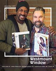 Westmount Window magazine cover December 2017
