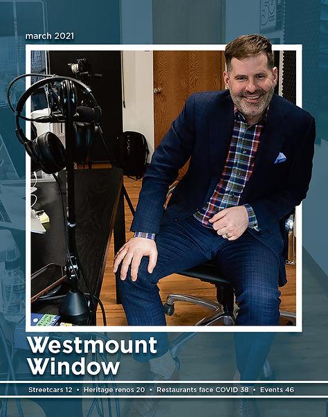 Westmount Window magazine cover March 2021