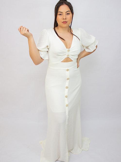 Vestido Resort Alles Branco
