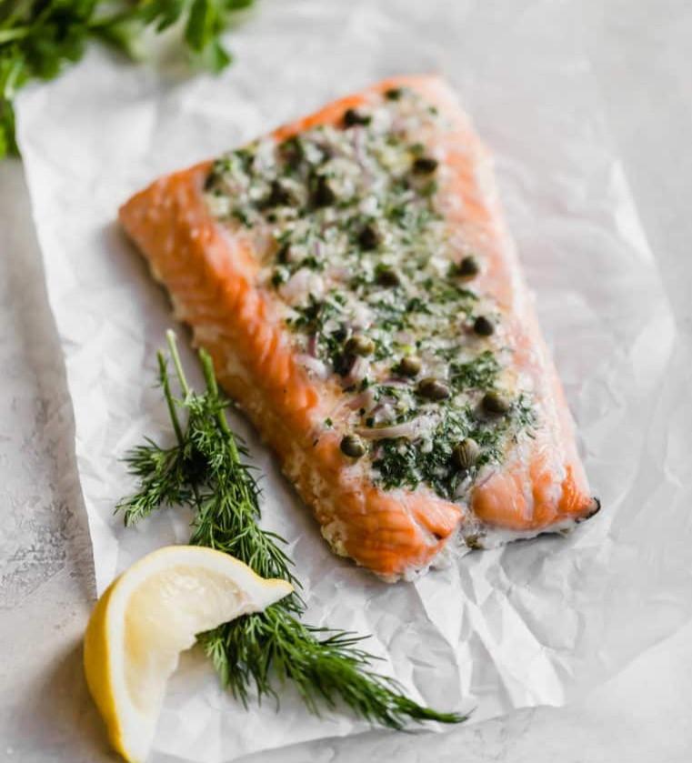 Roasted Salmon - Quality Fats