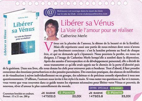 Libérer sa Vénus, Catherine Merle, massages royan