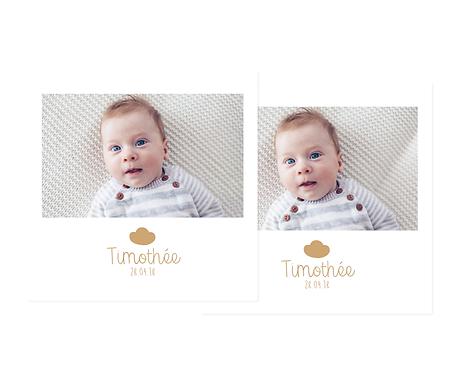 retouche de surface pour la photo de bébé