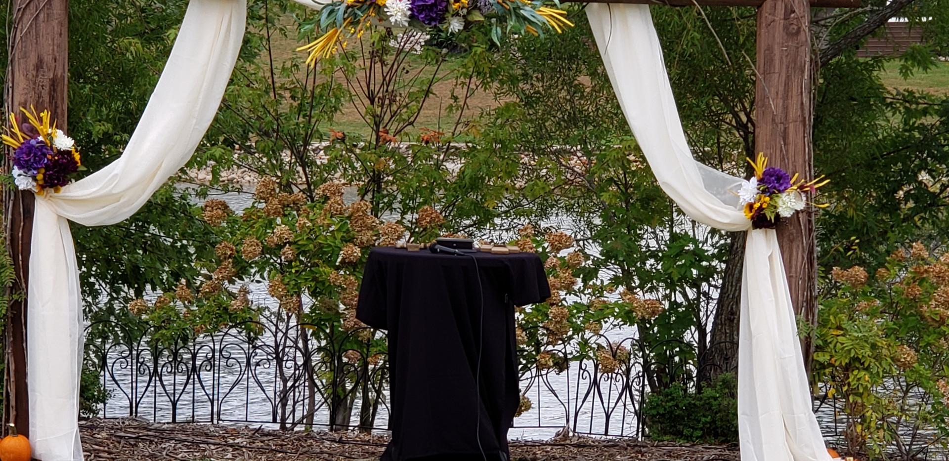 1. Side Pull Arch drape
