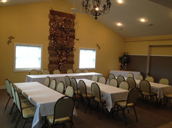 Banquet with head table