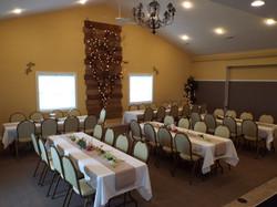 Standard Banquet style