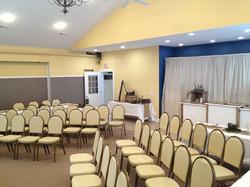 Seminar or ceremony seating