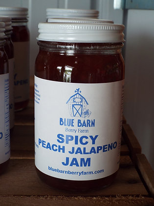 Spicy Peach Jalapeno Jam - 9 oz