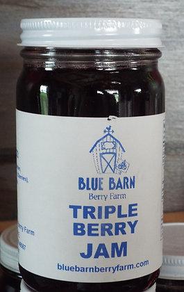 Triple Berry Jam - 9oz