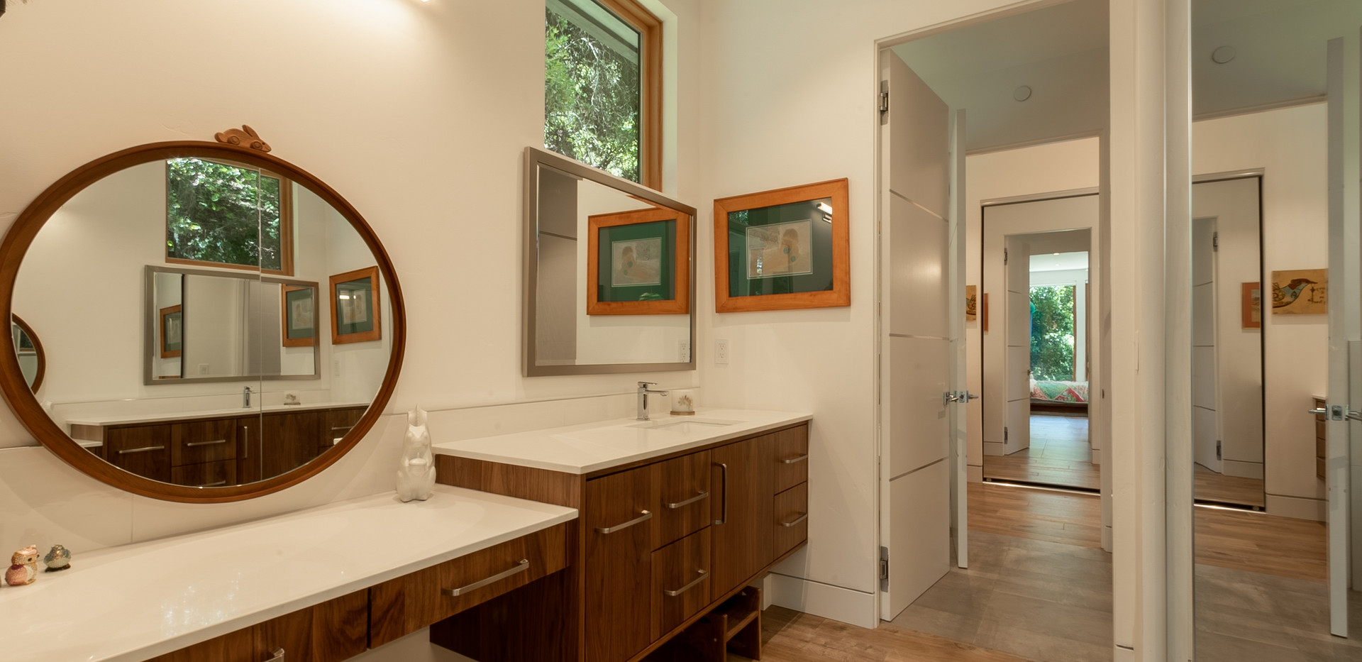 Scotts Valley Modern Bathroom