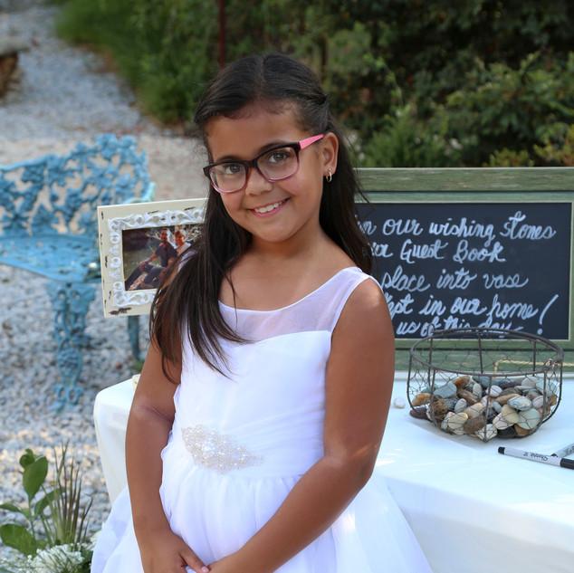 The Flower Girl - JC and Annette's Wedding