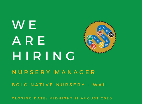 BGLC SEEKS EXPERIENCED NURSERY MANAGER