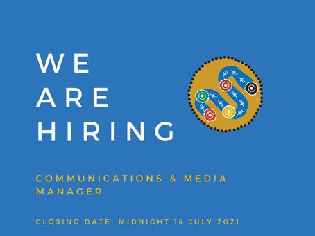 BGLC Seeking a Media and Communications Manager