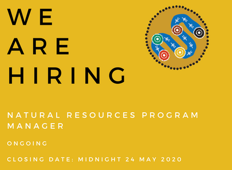 Natural Resources Program Manager Wanted