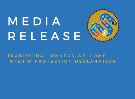 Traditional Owners welcome new Interim Protection Declaration