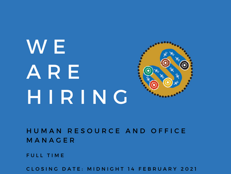 BGLC Seeking a Human Resource and Office Manager
