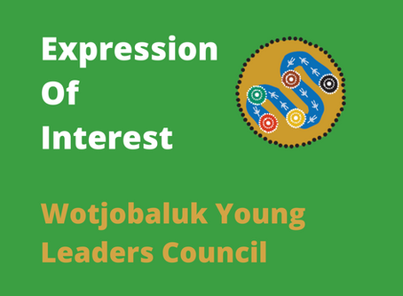 Wotjoblauk Young Leaders Council - Expression of Interest
