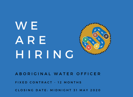 Barengi Gadjin Land Council Aboriginal Water Officer Wanted