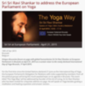 The yoga way sri sri Ravi Shankar