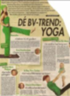 yoga BV trend