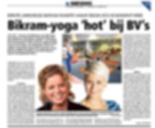 Hot Yoga Oudenaarde Bikram yoga hot BV's