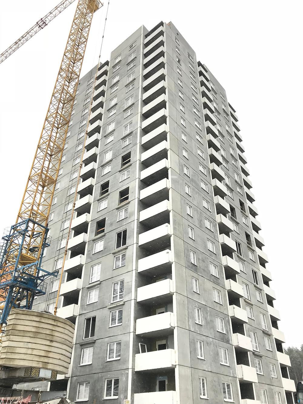 Ход строительства 32 дом