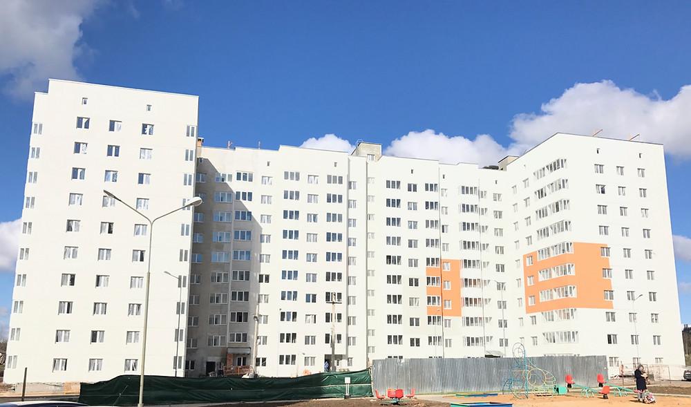 СИ-трейдинг, строительство дома 23А, Копище