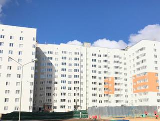 Ход строительства дома 23А