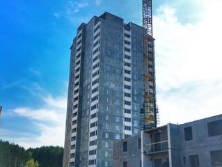 Ход строительства 32 дома