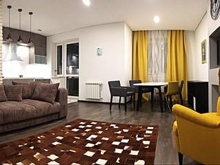 Квартира с ремонтом в стиле СИ-трейдинг