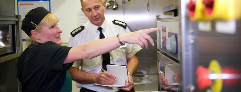 Fire Inspector, Pass Management System