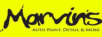 Marvin's Auto Paint, Detail & More Logo.